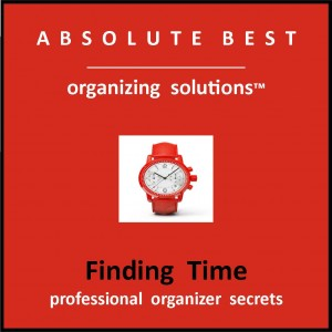 organizing store Finiding TIME logo