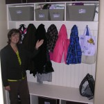 Mudroom organization services