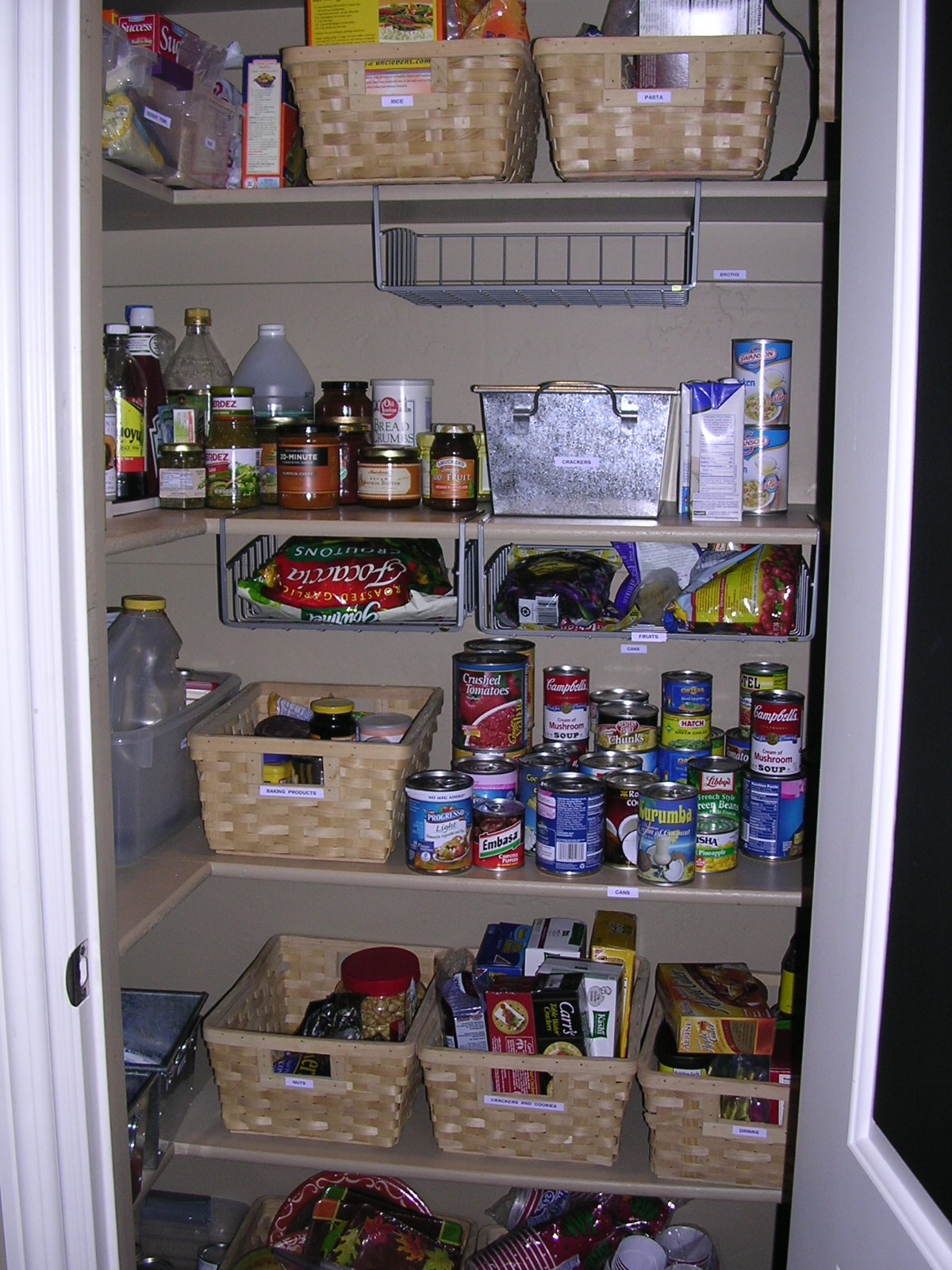 Professional organizer utah professional organizer for Organization ideas for kitchen pantry