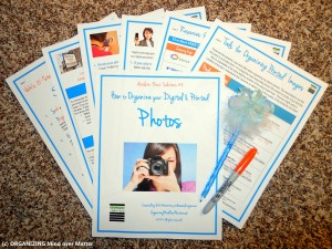 Photo Organizing Printable Kit
