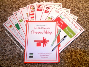 9 pg Christmas Planning Tool Kit containing 3 simple cures for holiday overwhelm