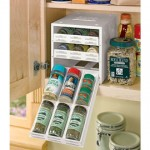 organization services with spice rack