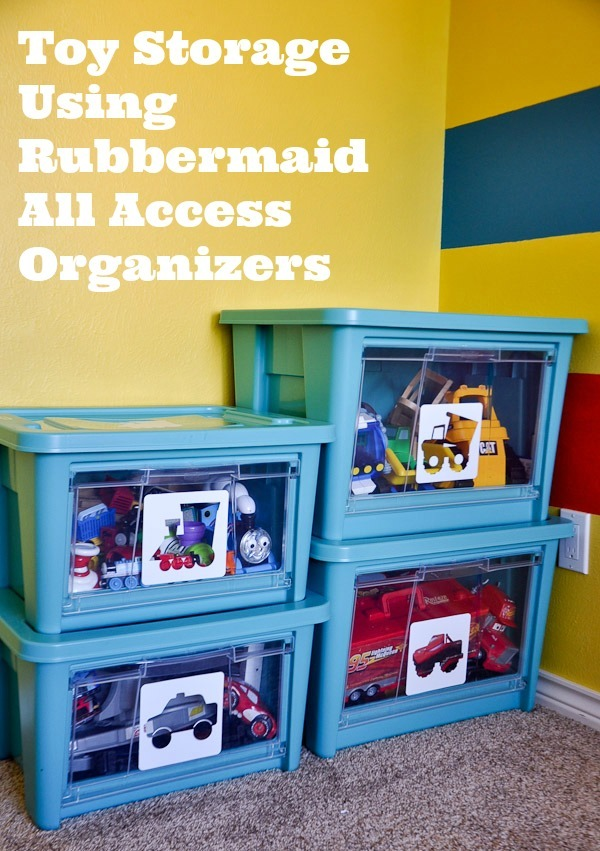 Organizing Kids Clutter - Toy Storage