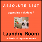 Organize Your Laundry Room information packet logo