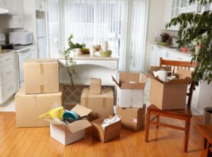 MOVING - we unpack and organize boxed items